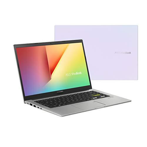 ASUS VivoBook 14 M413DA-EB462T - Ordenador Portátil de  Full HD (AMD Ryzen 7 3700U, 8GB RAM, 512GB SSD, AMD Radeon RX Vega 10, Windows 10 Home) Blanco Sueño-Teclado QWERTY español