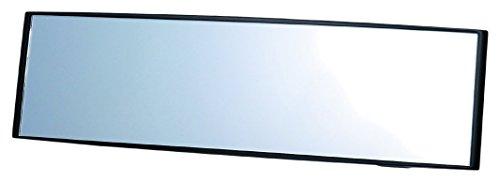 カーメイト 車用 ルームミラー 3000Rパーフェクト270mm クローム鏡 ブラック M9