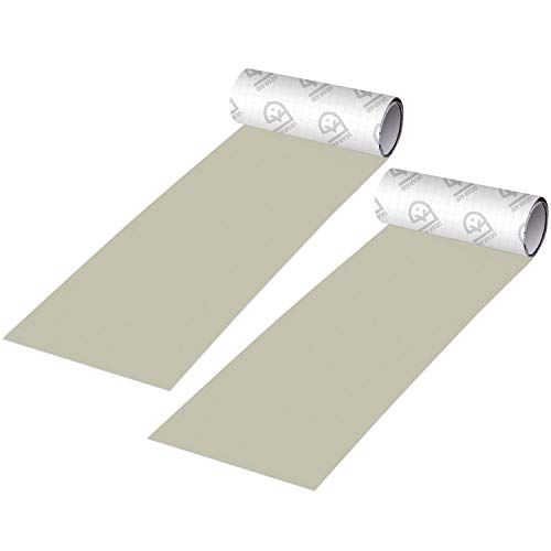 "GEAR AID Tenacious Tape Ripstop Repair Tape for Fabric and Vinyl, 3"" x 20"", Off-White, 2 Pack, Medium (10697)"
