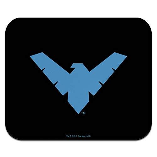 Batman Nightwing Logo Low Profile Thin Mouse Pad Mousepad