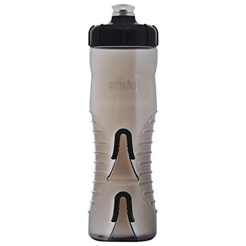 Fabric Cageless Wasserflasche, 750 ml, Rauch/Schwarz