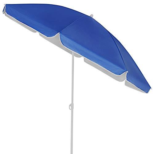Kingsleeve Sonnenschirm 180 cm UV Schutz 50+ Neigbar Wasserabweisend Balkonschirm Gartenschirm Strand Balkon blau leicht