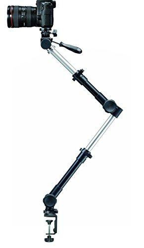 Universal Halterung & Fotostativ massiv mit Tischklemme für Kamera Camcorder Infuu Holders 047