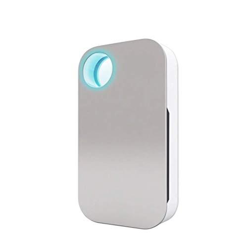 Breathe Green Plug N' Pure Odor Eliminator | Plug in Air Freshener | Smoke Dust Pet Odor Eliminator | Use in Bathroom, Bedroom Kitchen, Closet, Basement | Modern Sleek Purificador De Aire