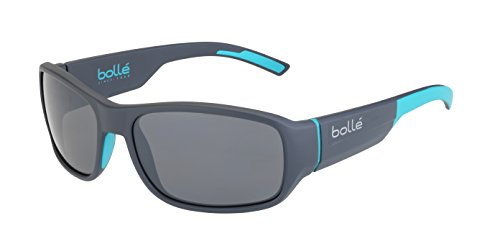 bollé Erwachsene Sonnenbrille Heron, Matt Grey Petrol, Medium, 12381