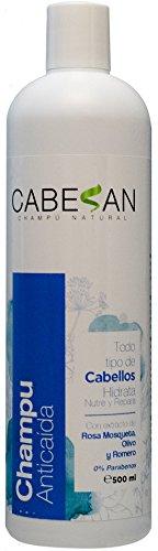 CABESAN Hidratante Anticaida 0% Parabenos con extracto de plantas (500ml)