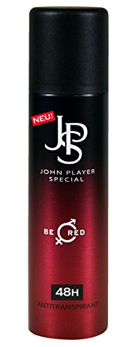 John Player Special Be Red Deospray Antitranspirant, 48 hours