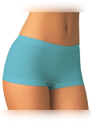 SENSI\' Boxershort Damen Panty Nahtlos Mikrofaser Made in Italy