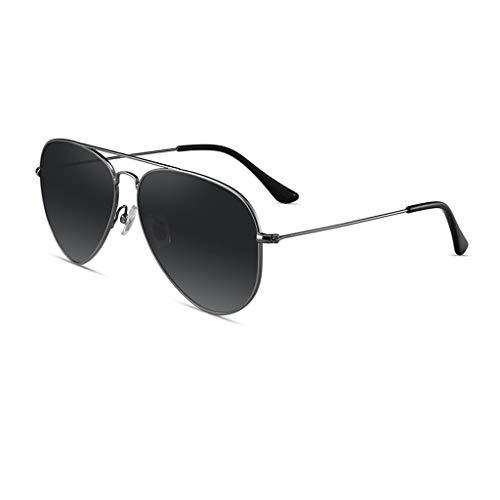 Lente polarizada HD Gafas de sol polarizadas de moda las gafas de sol de moda rana espejo gafas de sol al aire libre de accionamiento del desplazamiento Ultraligero, elegante y duradero