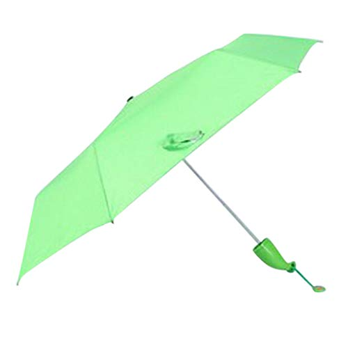 Fine Banana Shape Umbrella,Novel Folding Compact UV Sun Umbrella, Light Compact Umbrella,Mini Umbrella Portable Folding Umbrella for Men Women (Green)