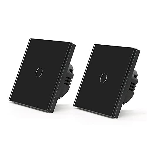 BSEED Touch Lichtschalter 2er Pack 1...
