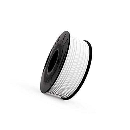 Recreus FW175250 Filamento Elástico para Impresora 3D, 250 g, Blanco (White)