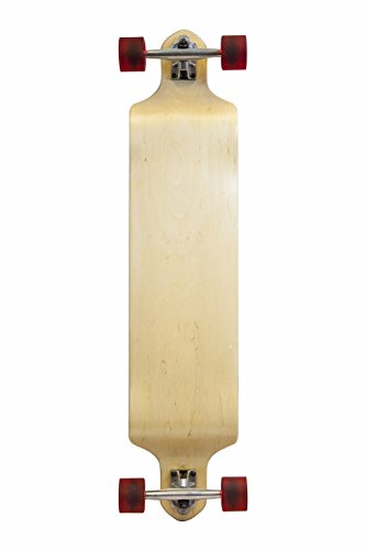 SCSK8 Professional Speed Drop Down/Drop Through Complete Longboards (Natural Drop Down, 40 x 9)