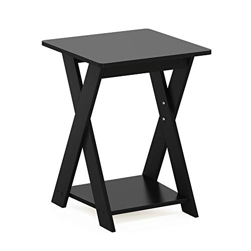 Furinno End Tables, Wood, Espresso, one size
