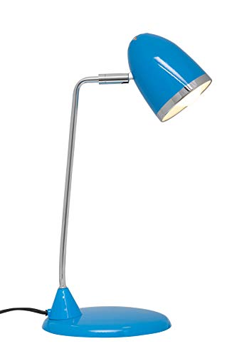 Maul Starlet A+, LED-Tischleuchte, Metall, 3 W, E27, hellblau, 19 x 16 x 29 cm