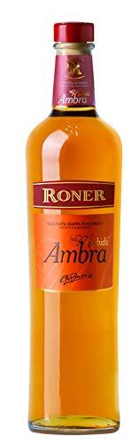 Roner Ambra La Morbida (1x 0,7l) - Grappa invecchiata Grappa di Moscato & Chardonnay Distilleria Artigianale Alto Adige Südtirol piu premiata d'Italia - 700 ml