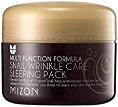 Mizon Cosmetics Snail Wrinkle Care Sleeping Pack, 2.7 Fluid Ounce