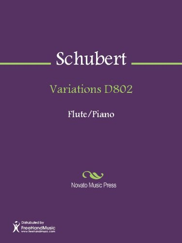 Variations D802 - Score (English Edition)