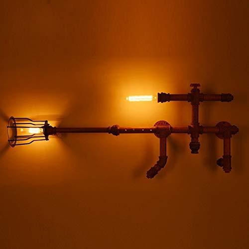 MOREWEY Minimalista Aplique de Pared Personalizado Pistola de Agua, Dormitorio de la lámpara Creativa Hierro Forjado Balcón Pasillo Luces del Pasillo Crocs