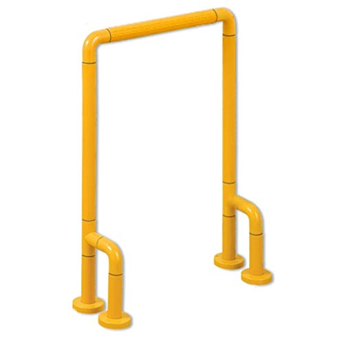 LJMG Grab Bars Handrails for Toilets Safety Handles in The Corridors of Nursing Homes Old-Man Handrails for The Disabled Can Bear 300kg (Color : Yellow, Size : 5470cm)