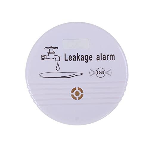 MoonlightMakers Actuadores de Movimiento Lineal Sensor de Detector de Fugas de Agua inalámbrico Independiente Sensor 90DB Detector de Alarma de Fugas de Agua para Cocina casera (Color : 1 PCS)
