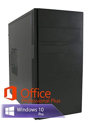 Ankermann Business günstig Silent PC PC Intel Core i5-3470 4x3.2GHZ AMD Radeon HD7350 16GB RAM 480GB SSD 250GB HDD Windows 10 PRO Leise W-LAN Office Professional