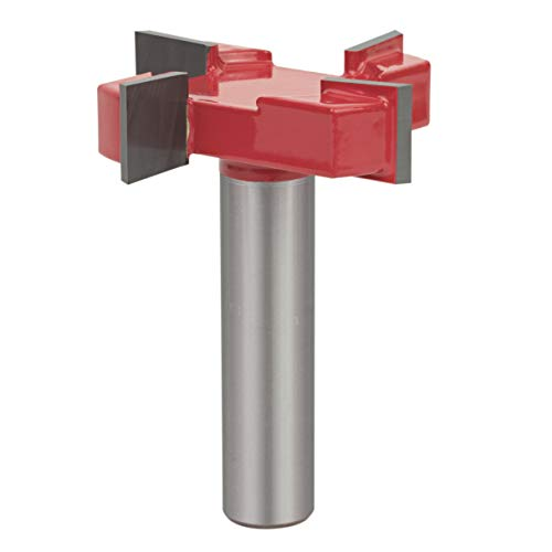 "Sabre Tools CNC Spoilboard Surfacing Router bit Planer for Slab Flattening and Planing (1/2"" S, 2"" D, 1/2"" H)"