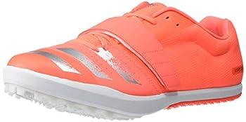 adidas Men s jumpstar Running Shoe Signal Coral/Silver Metallic/White 12.5