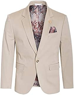 Perruzo Men's Stylish Slim Fit Blazer Sports Coat