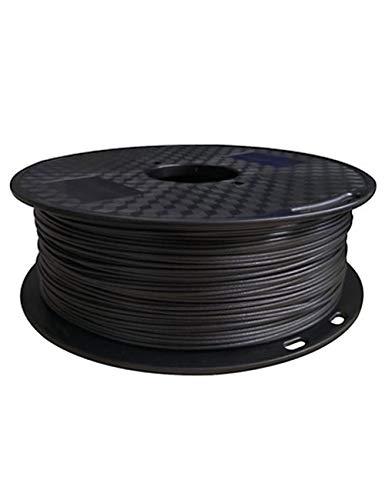 PETG Kohlefaserfilament, 3D-Druckerfilament, 1,75 mm, matt schwarz 1kg