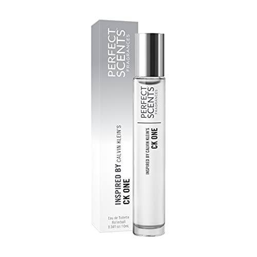 Perfect Scents Fragrances | Inspired by Calvin Klein's CK One | Rollerball | Women's Eau de Toilette | Vegan, Paraben Free, Phthalate Free | Never Tested on Animals | 0.34 Fl Oz