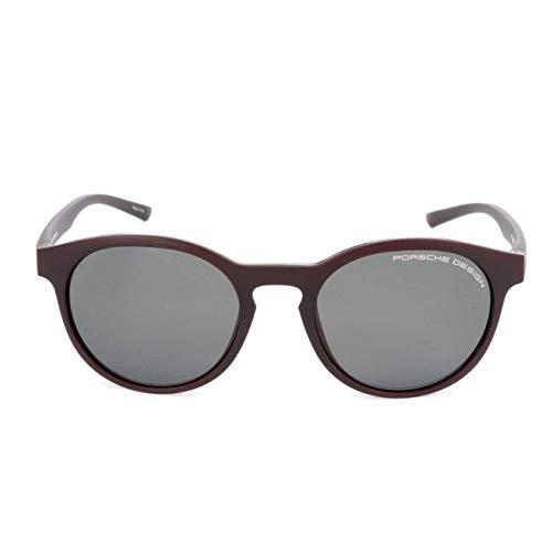 Porsche Design zonnebril P8654 D 51 19 145 rond zonnebril 51, rood