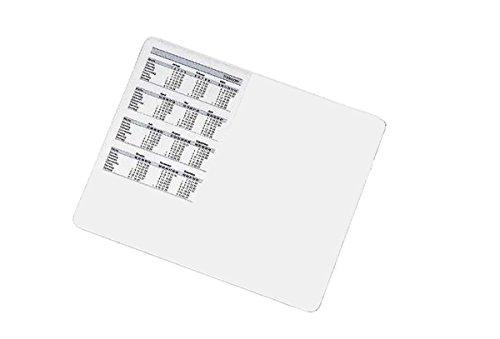 Veloflex 4630190 Maus-Pad Velodesk mit Einstecktasche, PVC, transparent, blendfrei, Mouse-Pad, Format 210x250mm