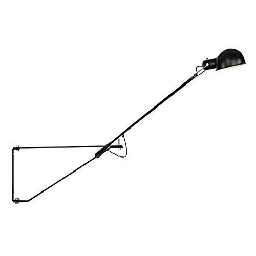 AKBOY LáMpara de Pared Vintage Ajustable Wall Light con Interruptor y Enchufe,...