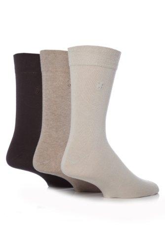 FarahHerren Socken Braun Braun