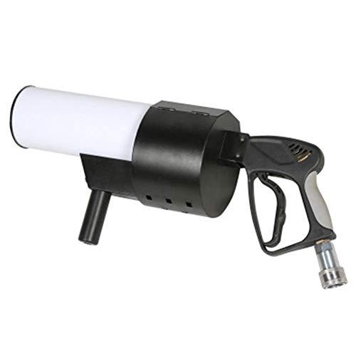 LYYAN Ausgezeichnet Handheld Nebelmaschine Konfetti Maschine mit LED-Leuchten Wiederaufladbar Rauchmaschine für Halloween Hochzeit Party Club CO2 Nebelmaschine DJ Effekt Spaß (Color : 2)