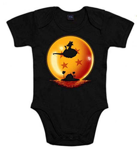 The Fan Tee Body de NIÑOS Dragon Ball Son Goku Anime Vegeta Piccolo Akira Toriyama 3Meses