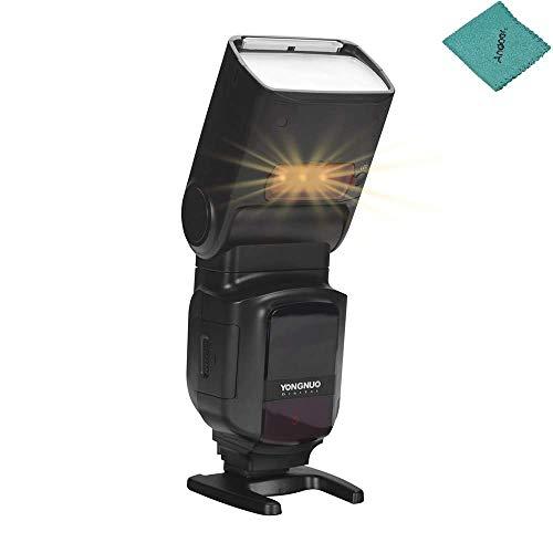 YONGNUO YN968N II Wireless TTL Flash Speedlite 1/8000s HSS Built-in LED Light 5600K Compatible with Nikon DSLR Cameras Compatible with YN622N YN560 Wireless System