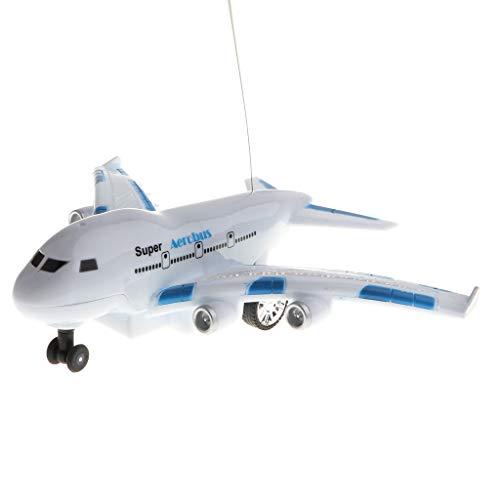Homyl RC Passagierflugzeug Ferngesteuerter Aerobus Flugzeug Spielzeug mit Musik und Licht