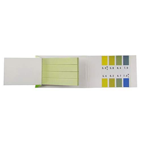 KANGF-PH, Alkaline Test Papers Strips Indicator Lab benodigdheden Litmus Testing Kit Voor Plant, Water 80 Strips PH 5.4-7.0,PH 5.5-9.0,PH 1-14