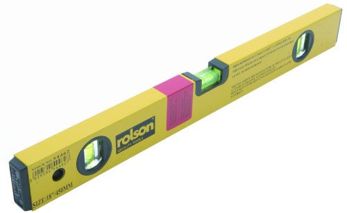 Rolson 54462 Alloy Spirit Level, 450 mm