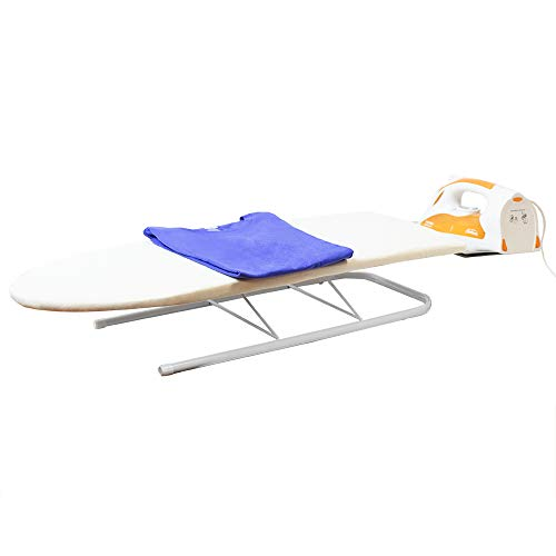Sunbeam Tabletop Convenient & Portable Ironing Board with Folding Legs and Iron Rest