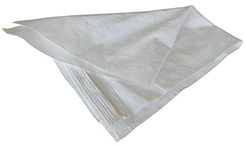 Viridex slaapzak wit van polypropyleen 35 x 50 cm tot 10 kg