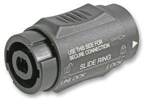 Neutrik NTR-NL4MMX - Conector (2,87 cm, 5 cm, 2,87 cm, Negro, UL 94 HB, IEC 68-2-20, -30-80 °C)