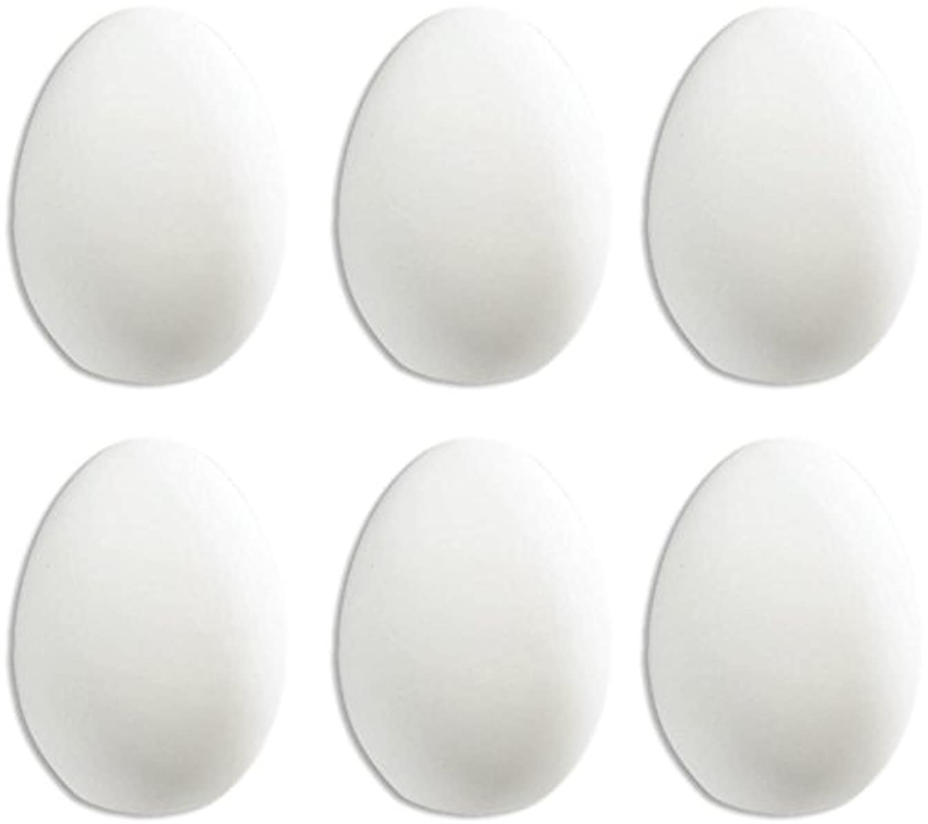 Easter Eggs - Set of 6 - Host Your Own Egg-Tastic Ceramic Painting Party
