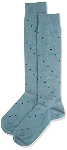 FALKE Unisex Kinder Multidot K KH Socken, Grün (Cypress 7673), 35-38 (9-12 Jahre)