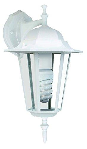 Aplique de exterior Astrid 7hSevenOn Outdoor 09190, descendente, 60W, IP44, E27. Color blanco. [Clase de eficiencia energética A]