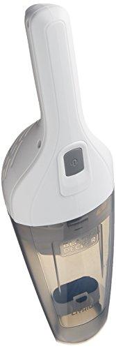 Black + Decker aspiradora de mano inalámbrica, color blanco (HNVB115J10)
