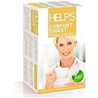 HELPS INFUSIONES - Infusión Digestiva Ecológica Con Manzanilla, Anís Y Melisa. Helps Confor Digest. Caja De 20 Bolsitas.