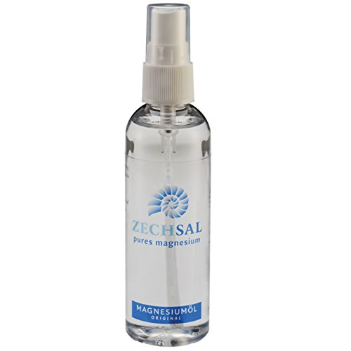 Zechsal Magnesiumöl Sprühflasche (100ml) [Das Original - aus dem Zechsteinmeer] Tausendkraut